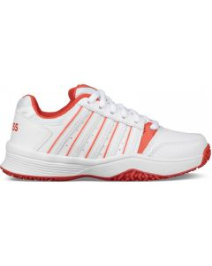 K-Swiss Court Smash Omni Junior Tennisschoenen