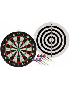 Abbey Flocked Dartboard